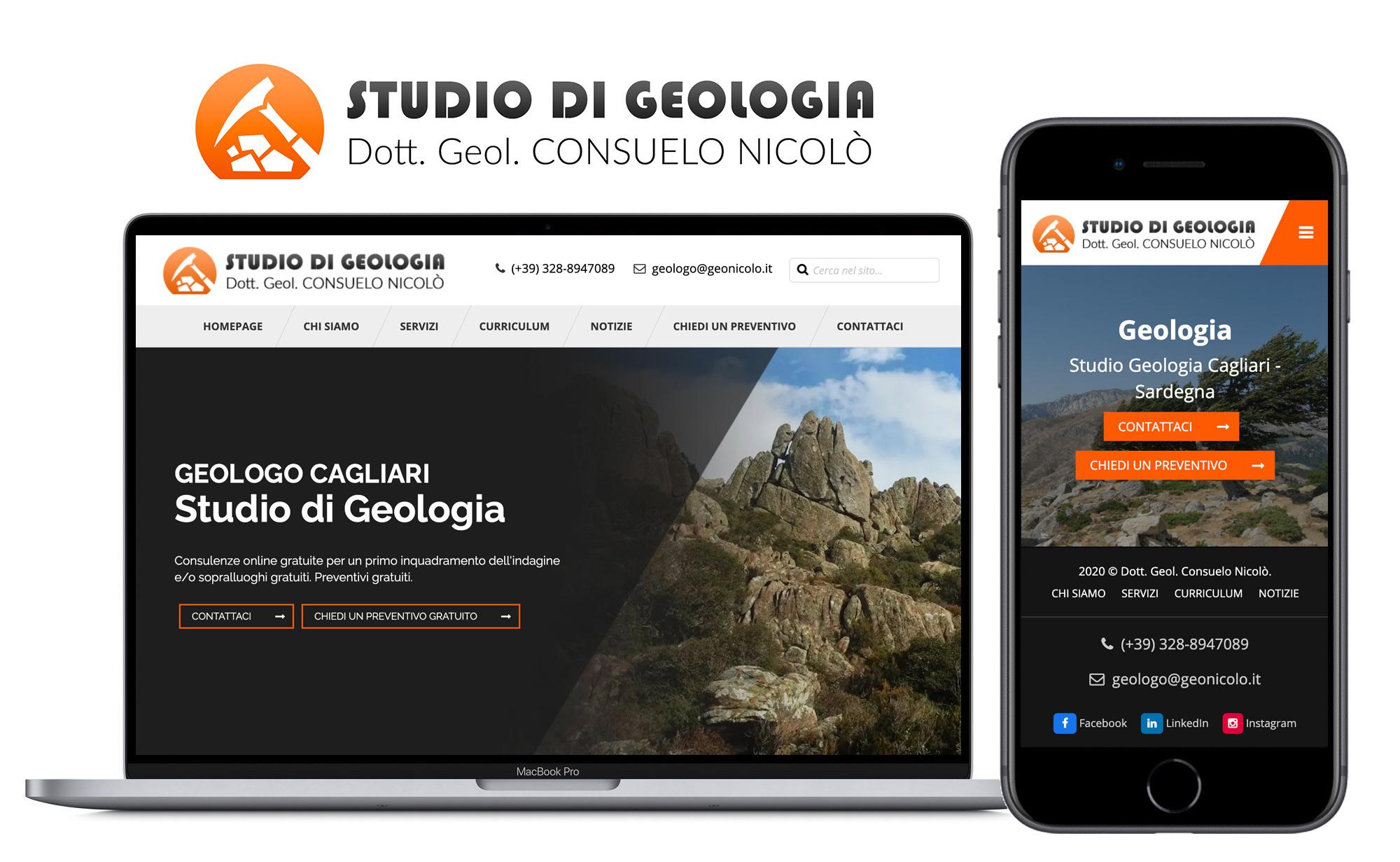 Web Design Cagliari Geologia