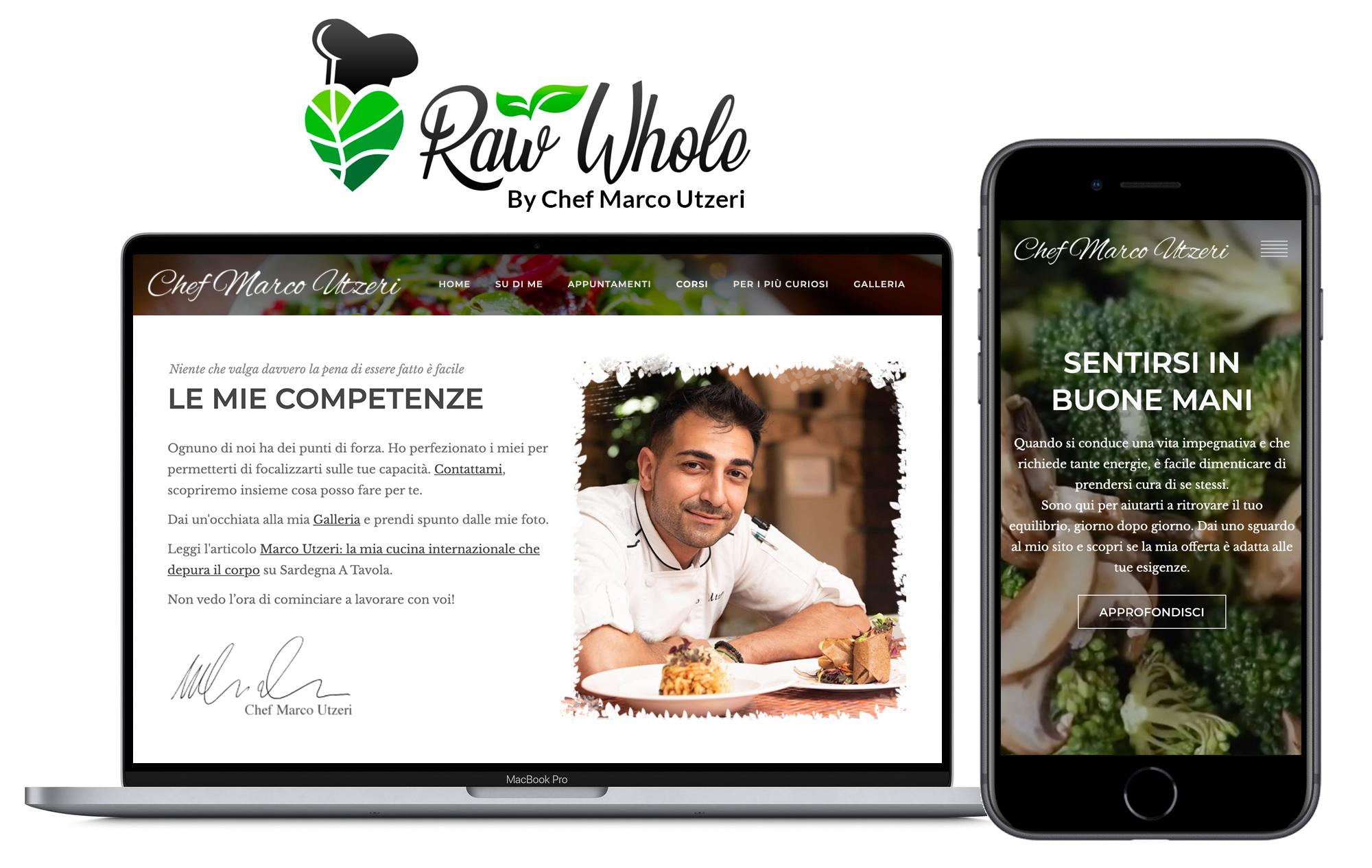 web-design-cagliari-chef-marco-utzeri